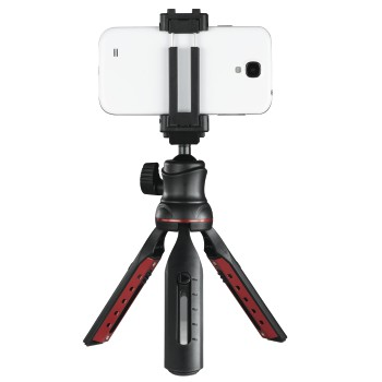 "abb3 Image 3 - Hama, ""Solid II, 21B"" Table Tripod, with ""BRS2"" Bluetooth® Remote Trigger"