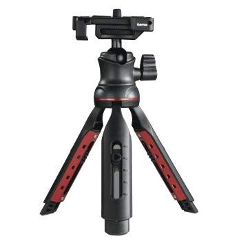 "abb6 Image 6 - Hama, ""Solid II, 21B"" Table Tripod, with ""BRS2"" Bluetooth® Remote Trigger"