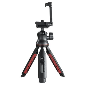 "abb8 Image 8 - Hama, ""Solid II, 21B"" Table Tripod, with ""BRS2"" Bluetooth® Remote Trigger"