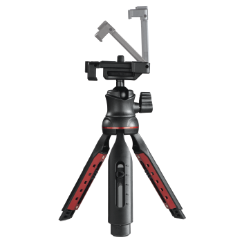 "abb9 Image 9 - Hama, ""Solid II, 21B"" Table Tripod, with ""BRS2"" Bluetooth® Remote Trigger"