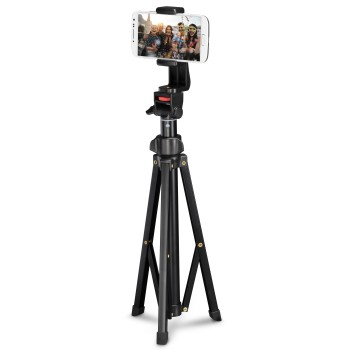 "abb Image - Hama, ""Rotary Smartphone"" 150 Tripod, Set with Bluetooth® Remote Shutter Release"