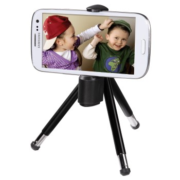 "awd Appliance - Hama, ""2-in-1"" Miniature Tripod for Smartphones, Ball"