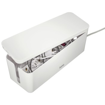 "awd4 Appliance 4 - Hama, ""Maxi"" Cable Box, 40.0 x 15.6 x 13.5 cm, white"