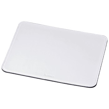 abb Image - Hama, Leather-look Mouse Pad, white