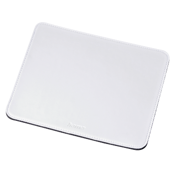 abb3 Image 3 - Hama, Leather-look Mouse Pad, white