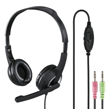 "abb Image - Hama, ""HS-P150"" PC Office Headset, Stereo, black"
