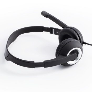 "abb2 Image 2 - Hama, ""HS-P150"" PC Office Headset, Stereo, black"