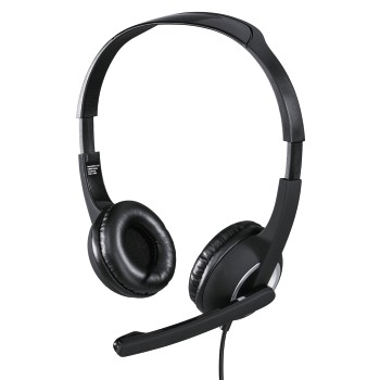 "abb6 Image 6 - Hama, ""HS-P150"" PC Office Headset, Stereo, black"