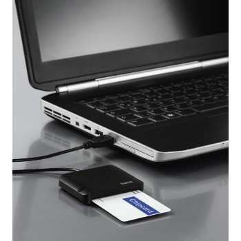 "awd2 Appliance 2 - Hama, ""Single"" Chip Card Reader, for smart cards/ID cards"