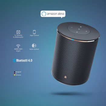 "det5 Detail 5 - Hama, ""SIRIUM1400ABT"" Smart-Speaker, Alexa/Bluetooth®"
