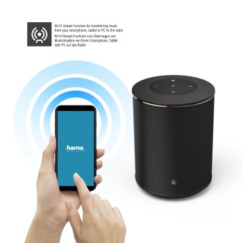 "det6 Detail 6 - Hama, ""SIRIUM1400ABT"" Smart-Speaker, Alexa/Bluetooth®"