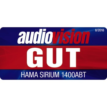 "tes2 Testurteil 2 - Hama, ""SIRIUM1400ABT"" Smart-Speaker, Alexa/Bluetooth®"
