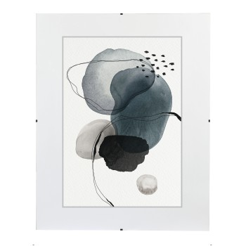 "abb Image - Hama, ""Clip-Fix"" Frameless Picture Holder, normal glass, 40 x 60 cm"