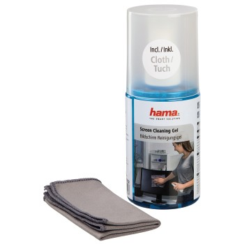 abb Image - Hama, Screen Cleaning Gel, 200 ml, cloth included