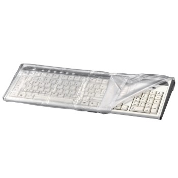 abb Image - Hama, Protective Dust Cover for Keyboards, transparent