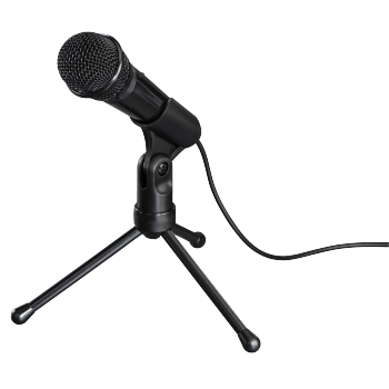 "abb Image - Hama, ""MIC-P35 Allround"" Microphone for PC and Notebook, 3.5 mm Jack Plug"