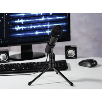 "awd Appliance - Hama, ""MIC-P35 Allround"" Microphone for PC and Notebook, 3.5 mm Jack Plug"