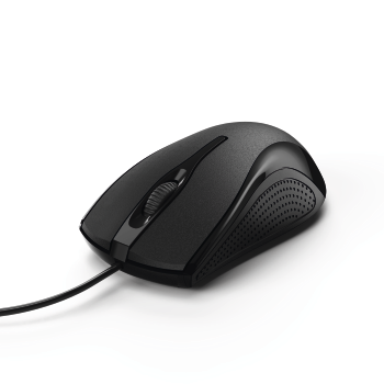 "abb Image - Hama, ""MC-200"" Optical 3-Button Mouse, Cabled, black"