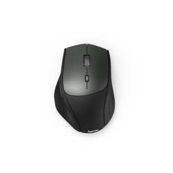 "abb2 Image 2 - Hama, Optical 6-button wireless mouse ""MW-600"", Dual mode with USB-C/USB-A, black"