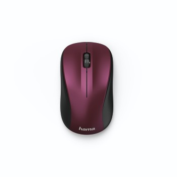 "abb2 Image 2 - Hama, ""MW-300"" Optical Wireless Mouse, 3 Buttons, bordeaux/pink"