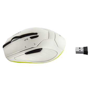 "abb4 Image 4 - Hama, ""Milano"" Compact Wireless Mouse, white"