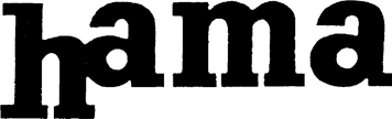 The Hama logo until 1966